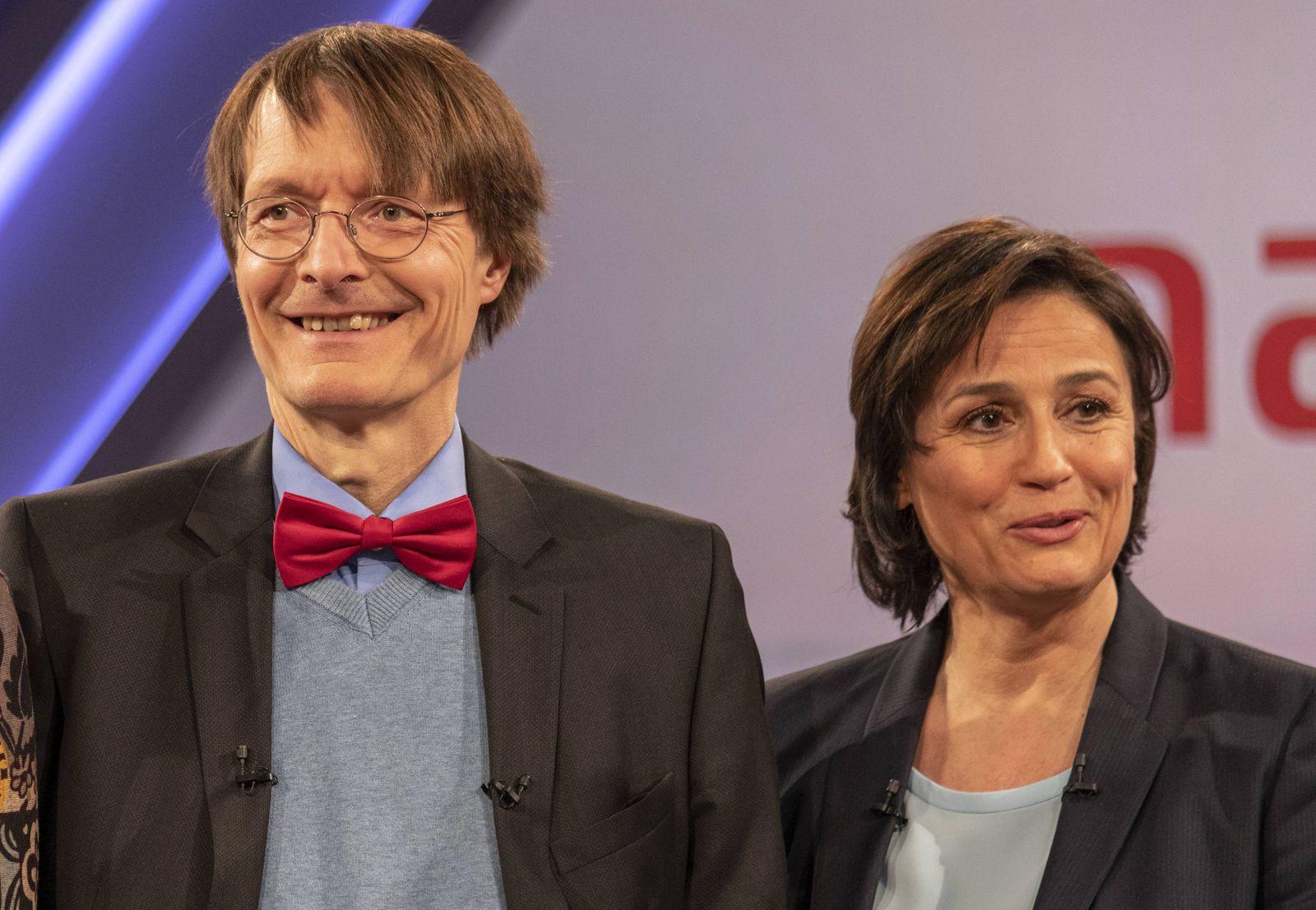 Misstrauen gegen Schulmedizin Wei?e Kittel nein danke Karl Lauterbach SPD Gesundheitspolitiker