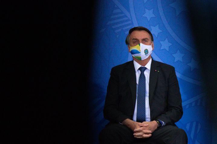 Ebenfalls neu auf der »Liste der Pressefeinde«: Jair Bolsonaro aus Brasilien