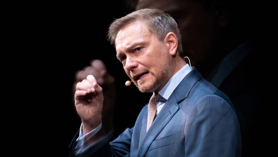 FDP-Chef Christian Lindner (beim Dreikönigstreffen 2019 in Stuttgart)