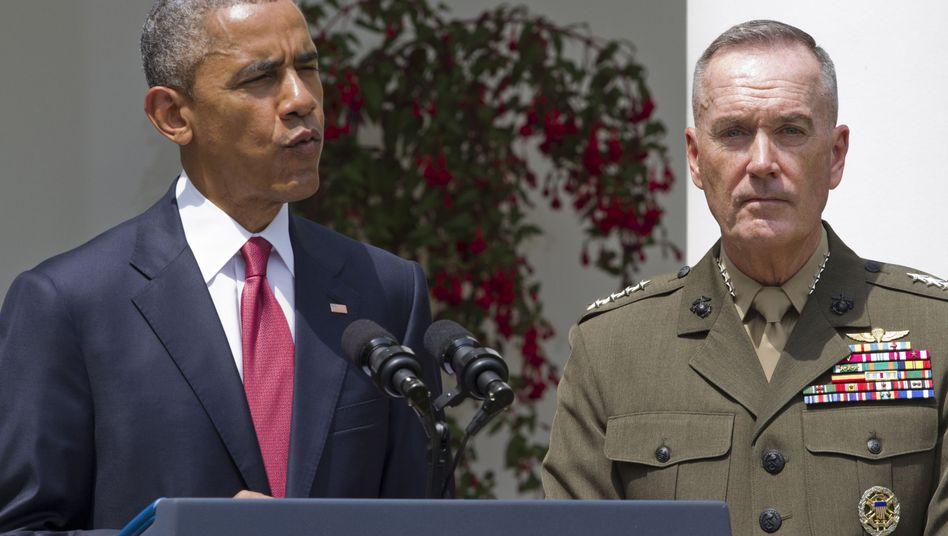 """Präsident Obama, General Dunford: """"Ich kenne Joe, ich vertraue ihm"""""""