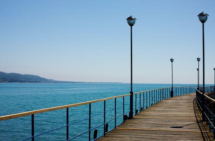 Pier in Suchumi