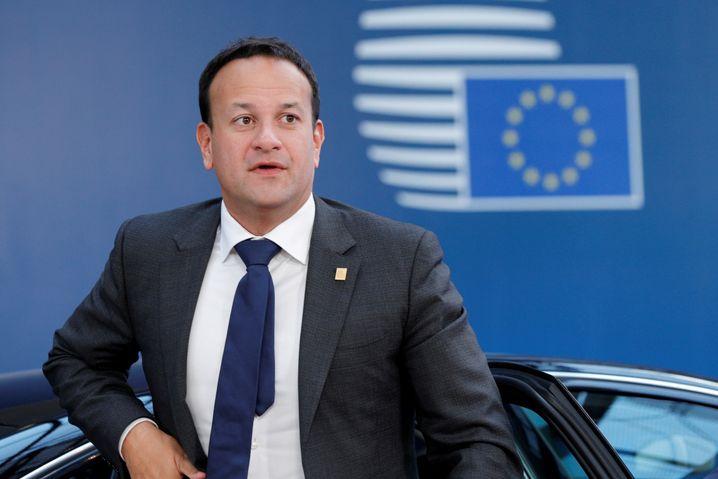 Leo Varadkar (in Brüssel): Der irische Premier ließ Johnson kühl abblitzen
