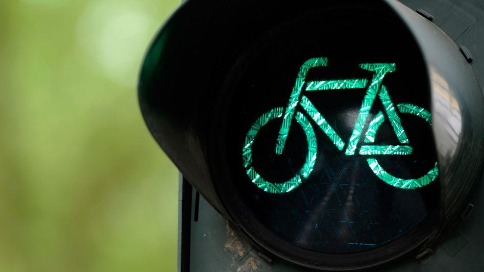 Fahrradampel: Mit kleinen Anstößen zur Verhaltensänderung