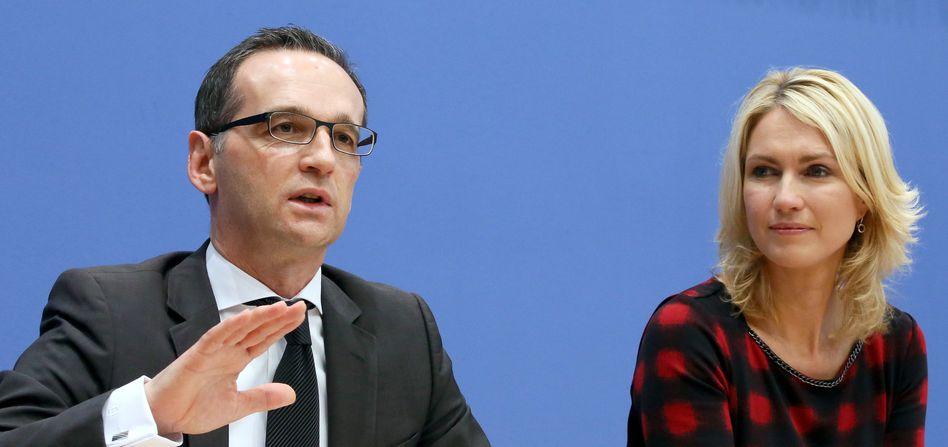"""Justizminister Heiko Maas: """"Menschen mit einer klaren Affinität zur Ausländerfeindlichkeit"""""""