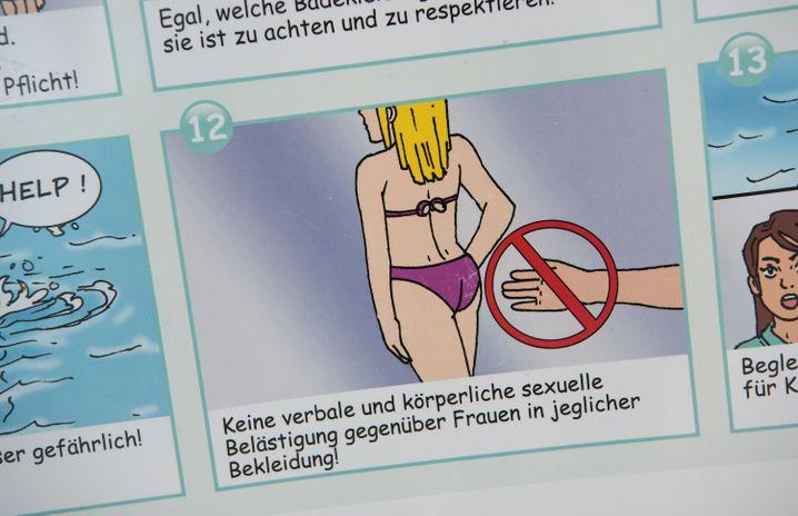 """Baderegeln in München: """"Egal, welche Badekleidung eine Frau trägt, sie ist zu achten"""""""