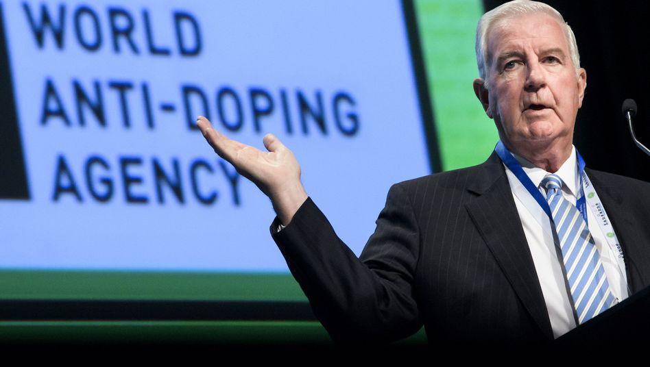 Craig Reedie beim WADA-Symposiums 2018