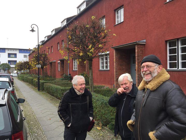 Jürgen Schulte, Manfred Klingbeil und Detlef Fendt (von links)
