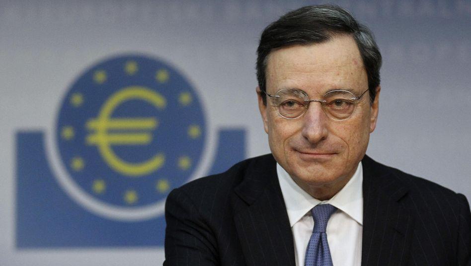 EZB-Präsident Mario Draghi: Kommt jetzt die Bazooka?