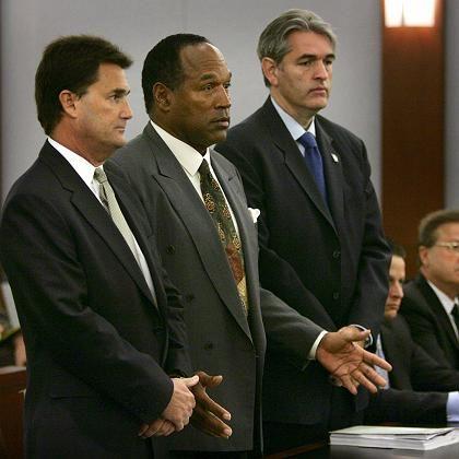 """O.J. Simpson vor Gericht: Des Raubüberfalls """"nicht schuldig"""""""
