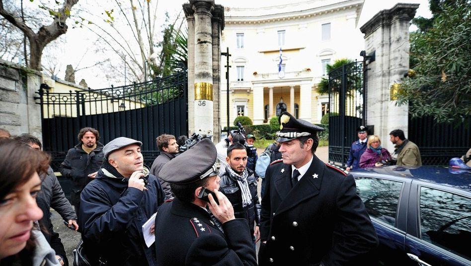 Griechische Botschaft in Rom am 27. Dezember: »Das ist kein Zufall«
