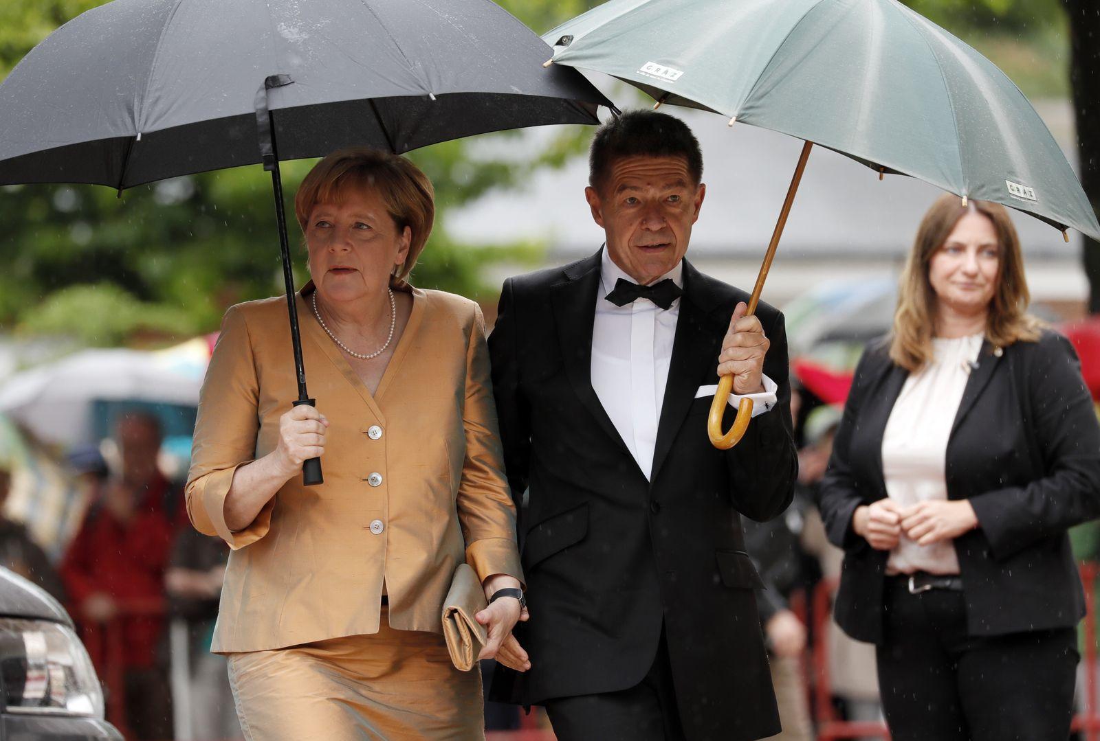 Bayreuther Festspiele 2017 / Angela Merkel