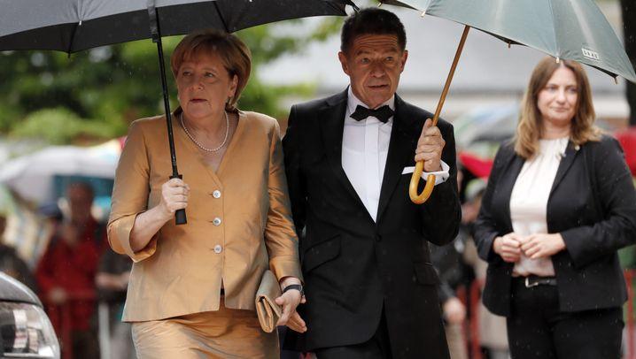 Merkel bei Bayreuth-Festspielen: Einmal Wagner, immer Wagner