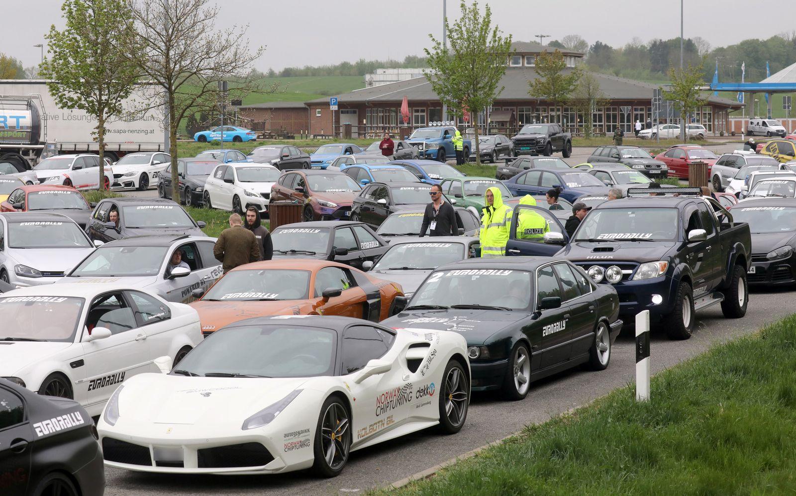 Eurorally - Verdacht auf illegales Autorennen
