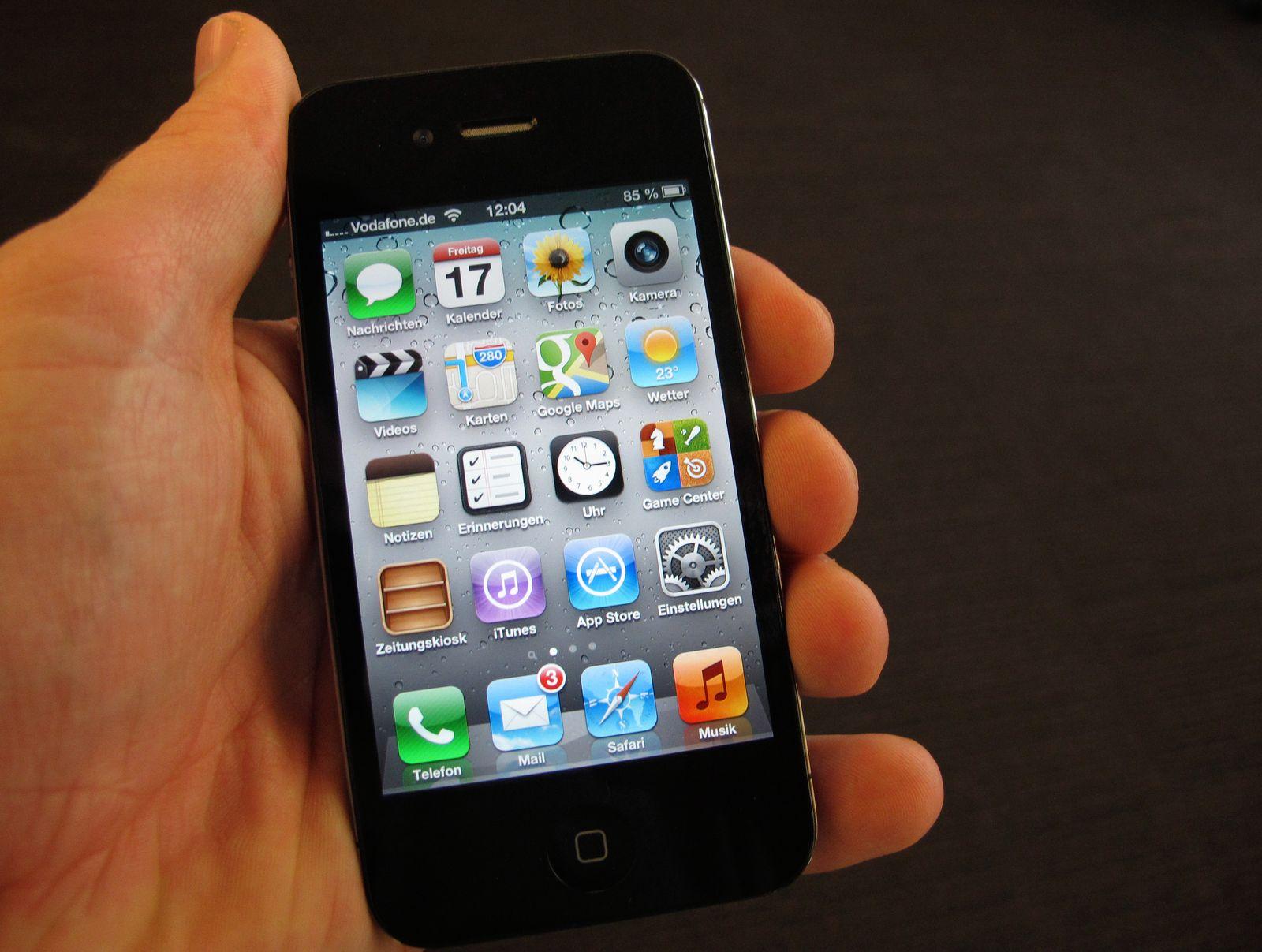 Handy / Nachrichten / Apps auf iPhone