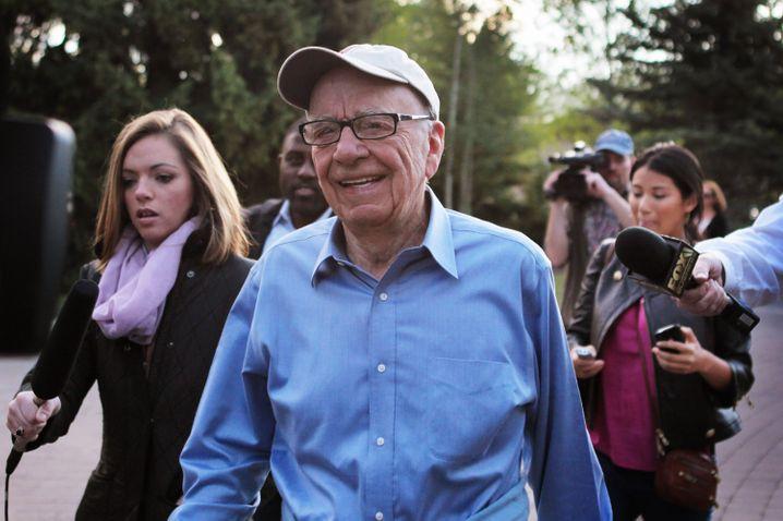 Geburtstagsparty abgesagt: Medienmogul und Fox-News-Gründer Rupert Murdoch