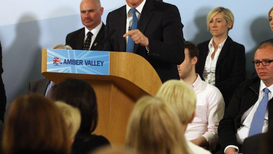 """Britischer Premier Cameron: Kampf """"Wir gegen Europa"""""""