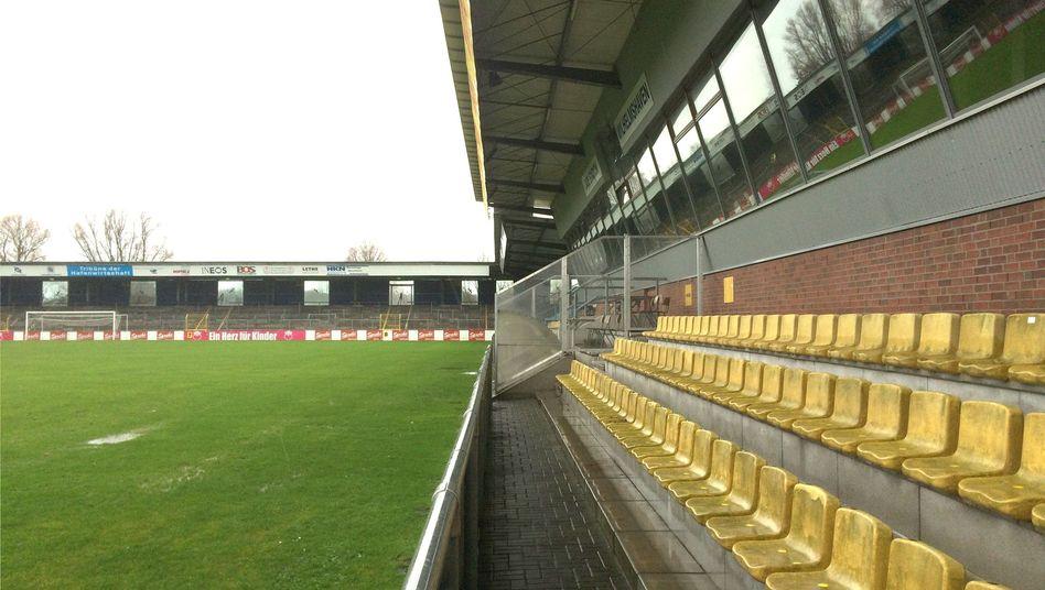 Fußballplatz des SV Wilhelmshaven