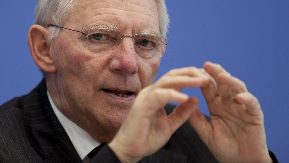"""Bundestagspräsident Schäuble: """"Wir zerstören die Motivation der Menschen"""""""