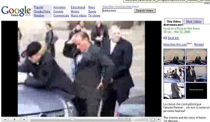 """Falsches Berlusconi-Video bei Video-Google: """"Wir haben die nicht veröffentlicht!"""""""