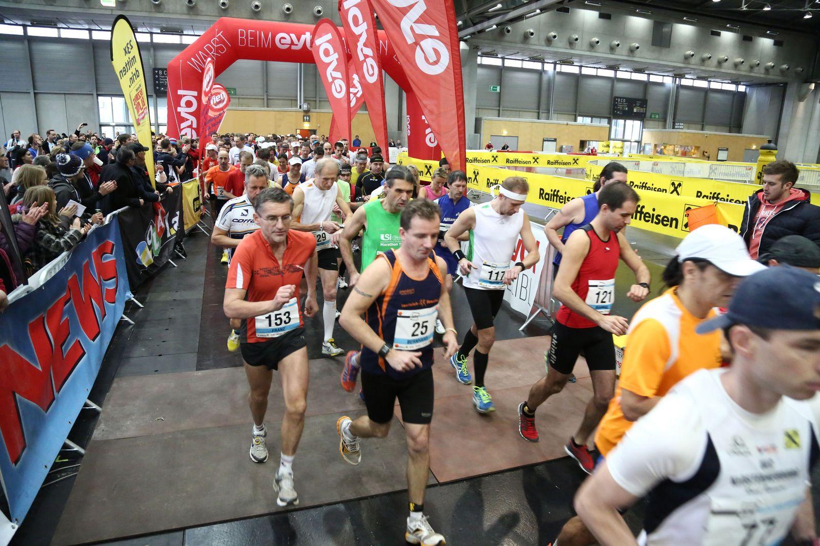 Indoor Marathon Wien 2012