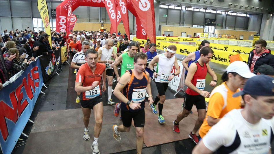 Hallen-Marathon in Wien: Die Strecke war um 1760 Meter zu kurz