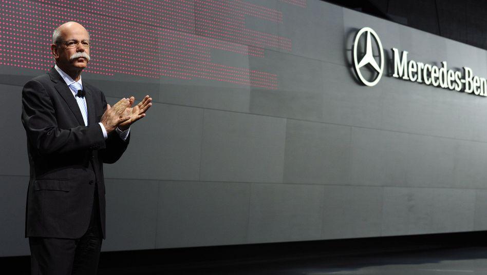 Daimler-Chef Zetsche: Pensionsansprüche in Höhe von 26,1 Millionen Euro