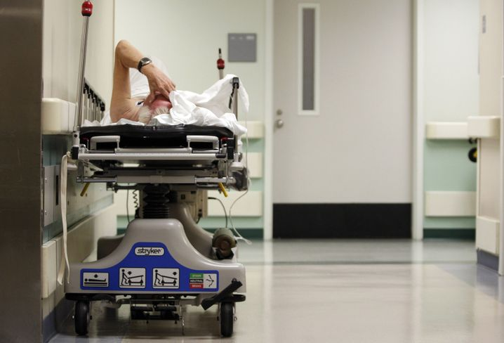 Patient in Houston (Archivfoto)