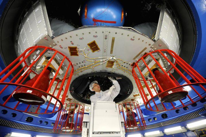 Raumtransporter ATV 2 bei EADS in Bremen: Reichen die Erfolge aus?