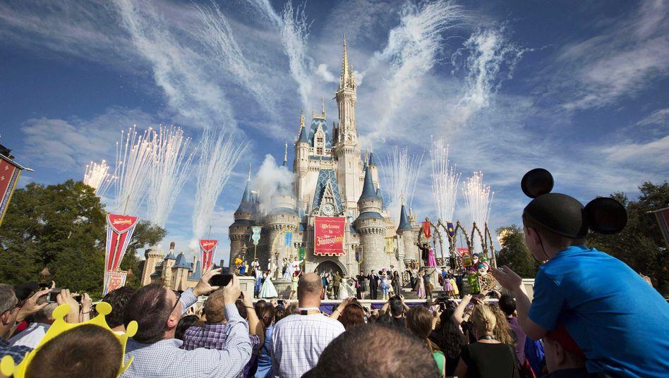 """Besucher in Walt Disney World (Florida): """"Einheitlicheres Erlebnis"""" für alle"""