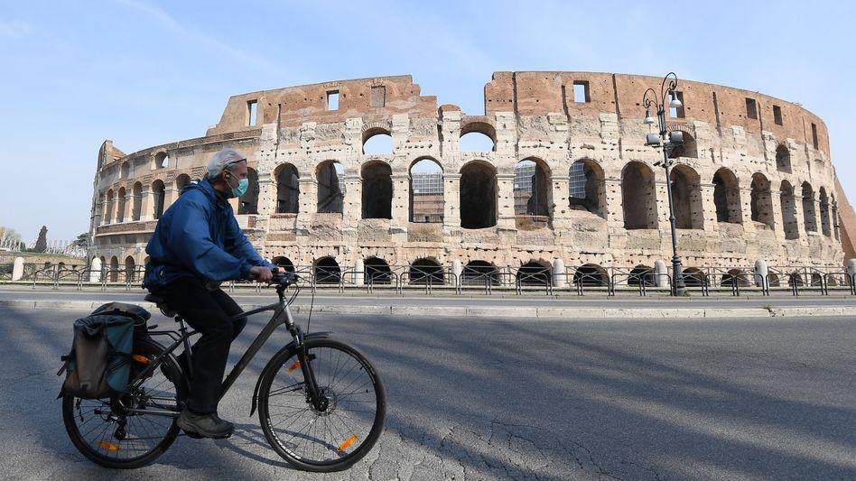 Ist wieder möglich: Mit dem Fahrrad durch Rom radeln