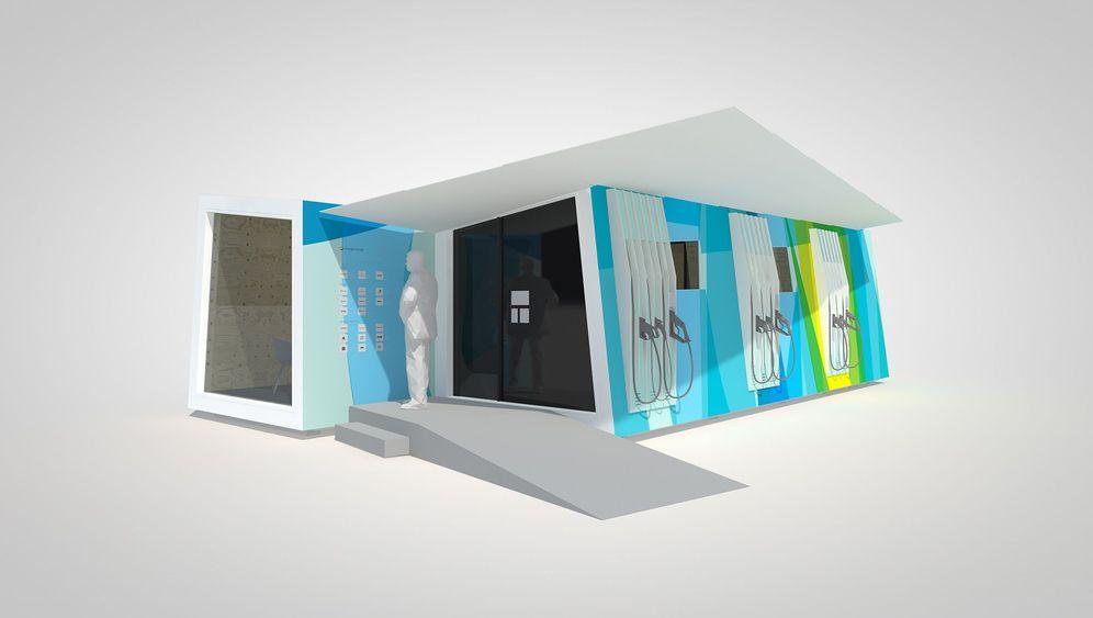 Projekte Charge Lounge und SLAM: Laden und laben
