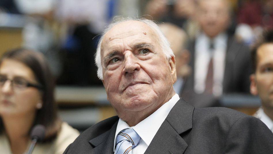 Helmut Kohl: Abgebildet auf einer 55-Cent-Marke
