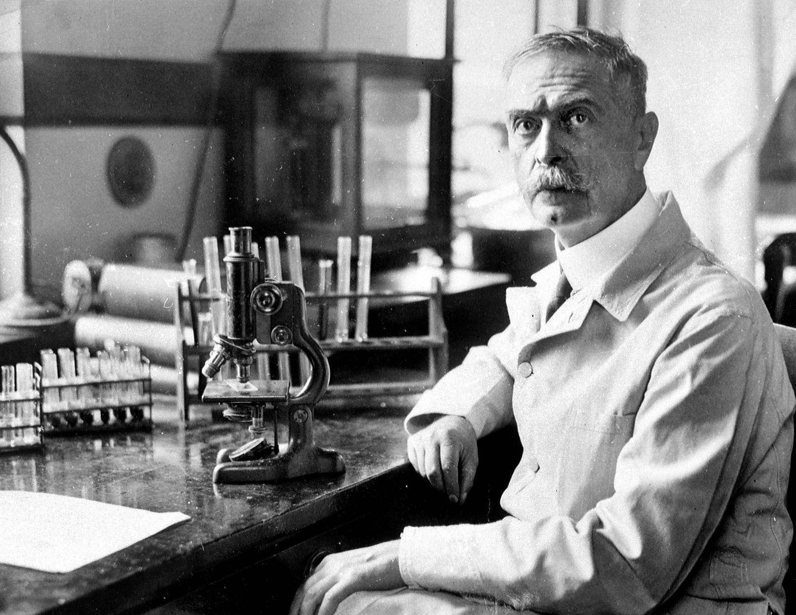 Forensik - Karl Landsteiner (1868-1943), Austrian-born American