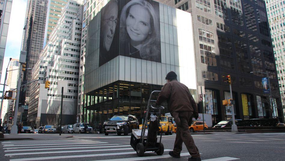 Porträt von Harry Macklowe und seiner Ehefrau Patricia Landeau in New York
