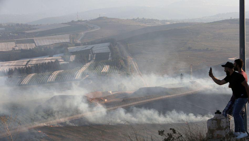 Beschuss an der israelisch-libanesischen Grenze