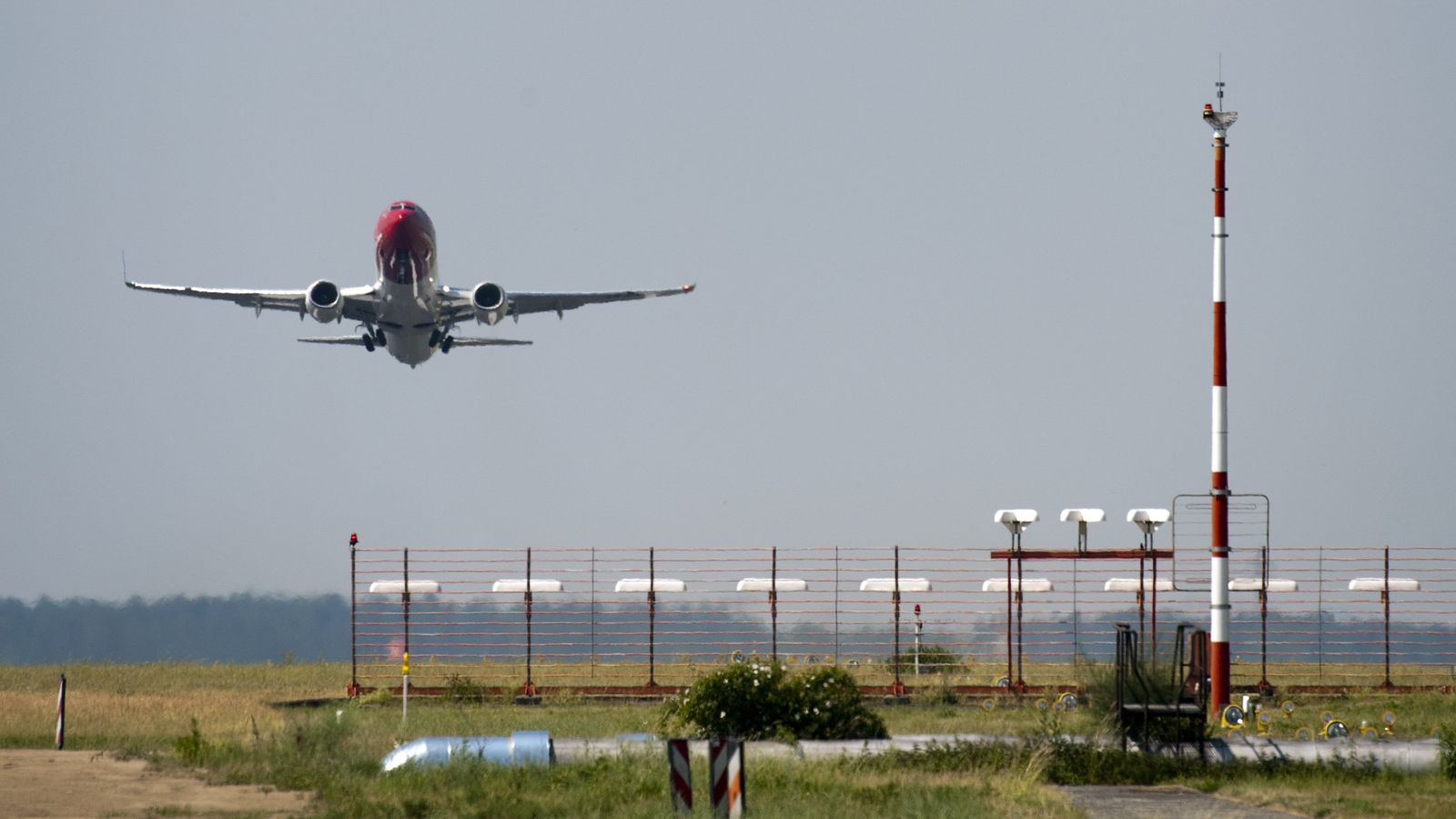 Flugzeug / Start