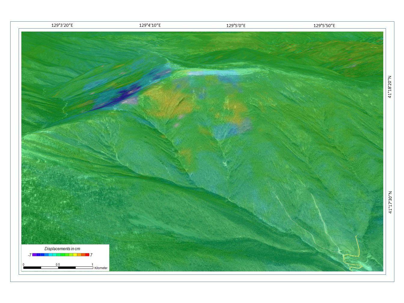 EINMALIGE VERWENDUNG Satellitenbild der Woche/ Nordkorea/ Kernwaffentest