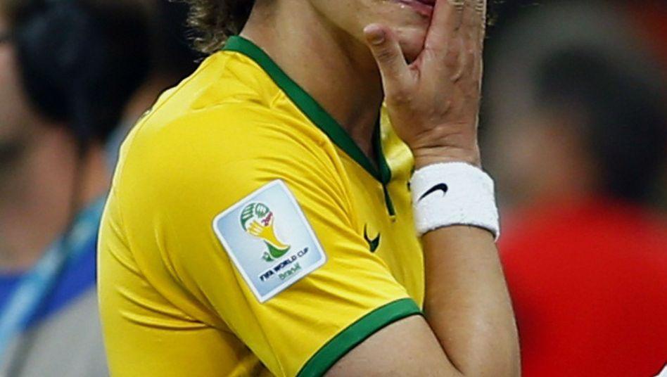 Brasilianischer Fußballer Luiz: Tränen nach dem 1:7