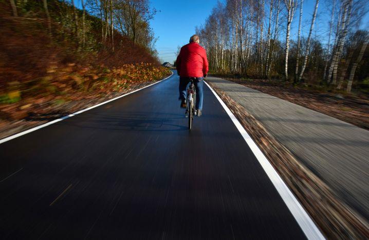 Radschnellweg für Pendler in Mülheim an der Ruhr