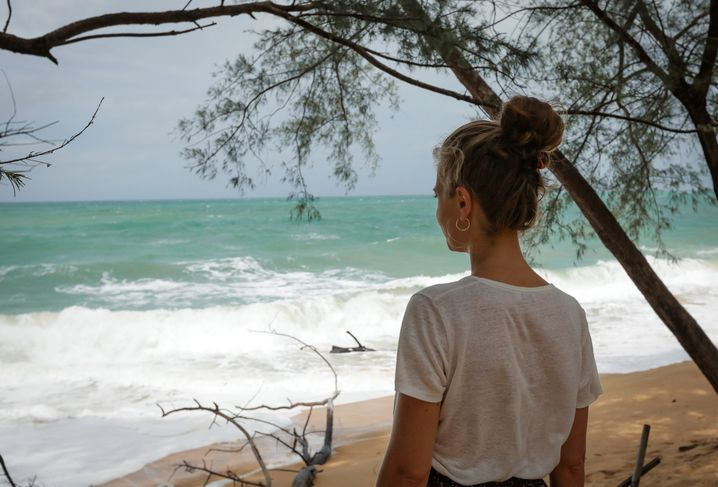 Maria am Mai Khao Beach, Phuket: »Ich bin weg«