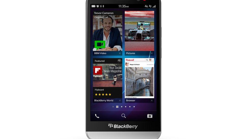 Blackberry Z30: Das bisher größte Smartphone des kanadischen Herstellers