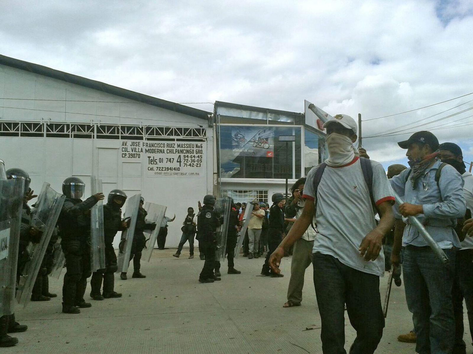 Mexiko: Zusammenstöße in Guerrero
