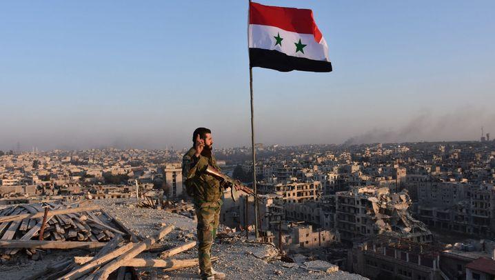 Angriff des Assad-Regimes: Endkampf um Aleppo