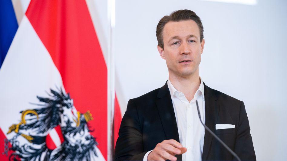 Österreichs Finanzminister Gernot Blümel (ÖVP)