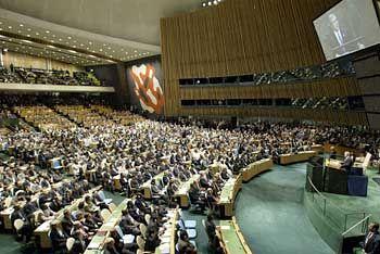 Uno-Vollversammlung: Neuer Entwurf zur Irak-Resolution mit guten Chancen