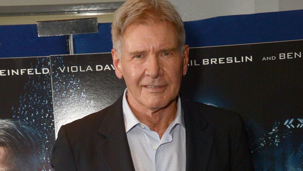 """Star Wars""-Star Harrison Ford verletzt: Fataler Falcon"
