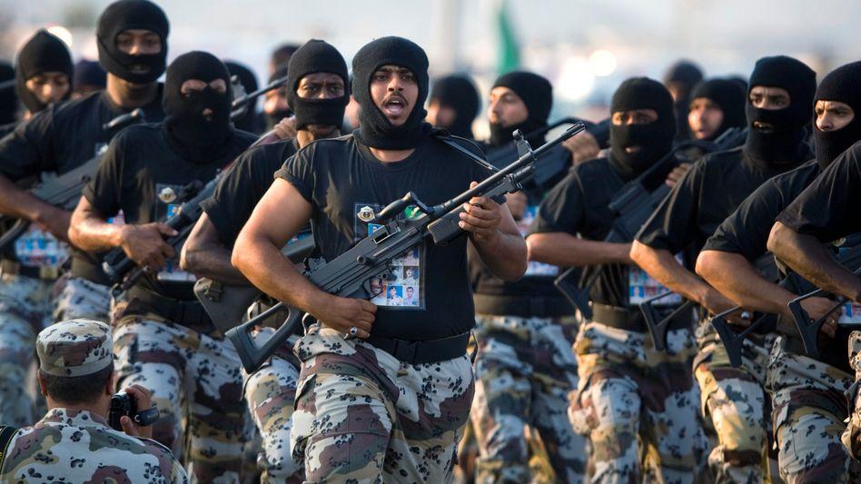 Saudi-arabische Soldaten (Archivbild)