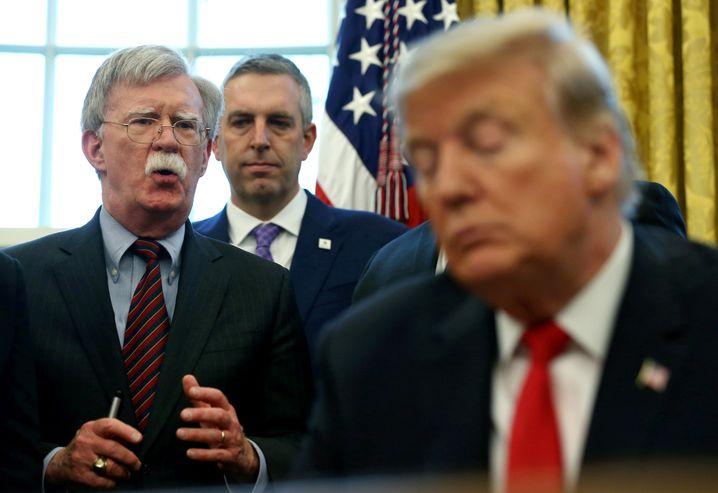 Trumps früherer Sicherheitsberater Bolton: Auf Konfrontationskurs