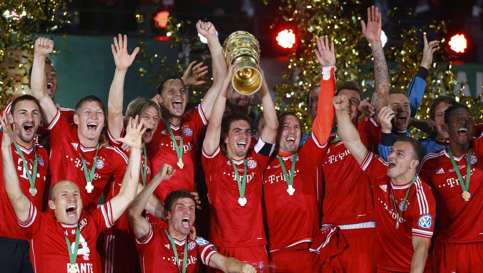 DFB-Pokal-Finale: Gomez und Harnik treffen per Doppelpack