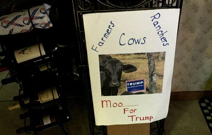 Muhen für Trump